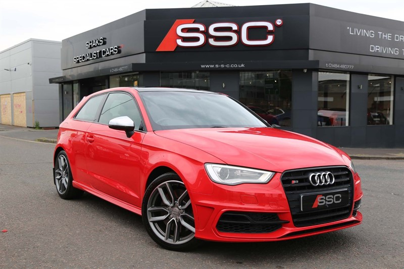 used Audi S3 TFSI S Tronic quattro in huddersfield-west-yorkshire