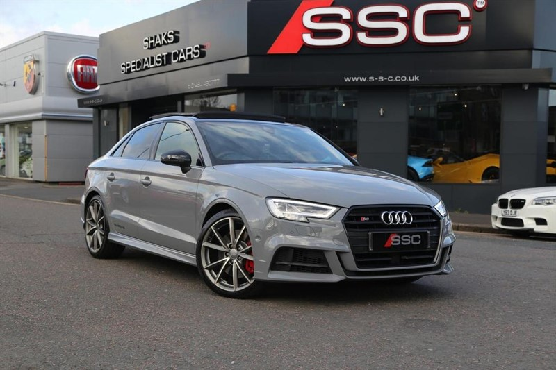 used Audi S3 TFSI Black Edition S Tronic quattro (s/s) 4dr in huddersfield-west-yorkshire