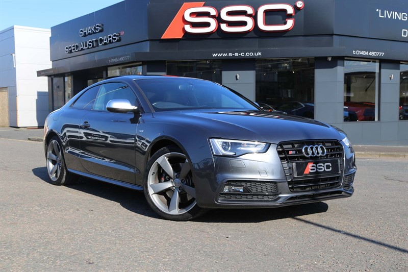 used Audi S5 TFSI Black Edition S Tronic quattro (s/s) in huddersfield-west-yorkshire