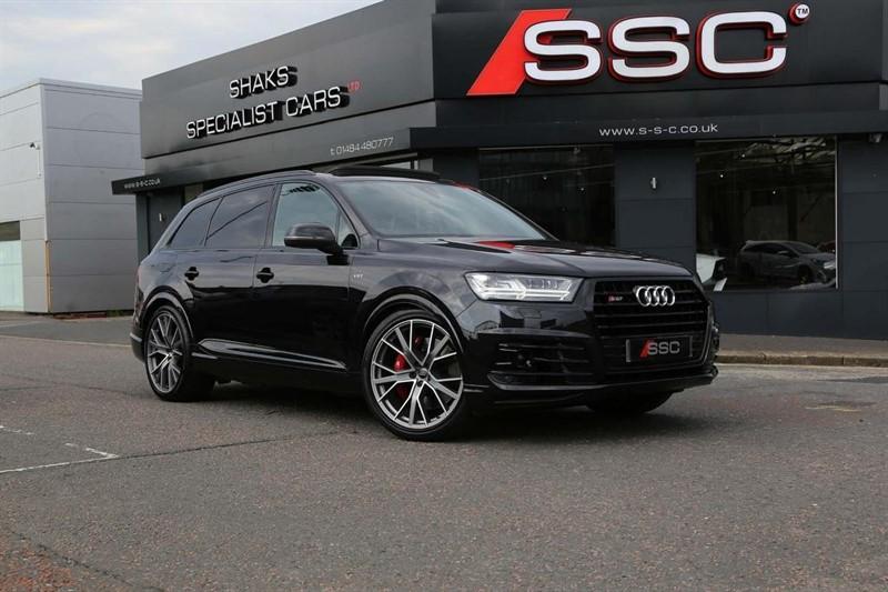 used Audi SQ7 TDI V8 Tiptronic quattro (s/s) 5dr in huddersfield-west-yorkshire