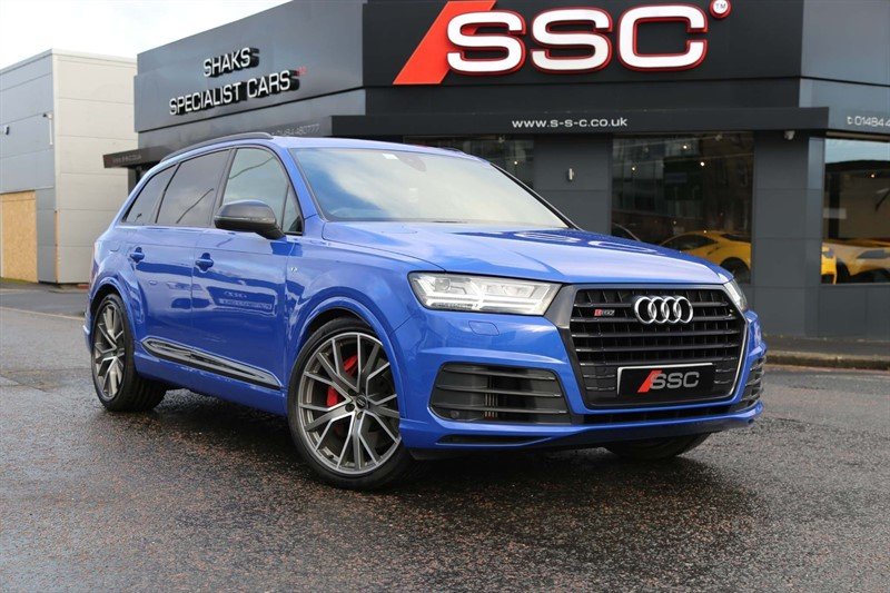used Audi SQ7 TDI V8 Tiptronic quattro (s/s) 5dr in huddersfield-west-yorkshire