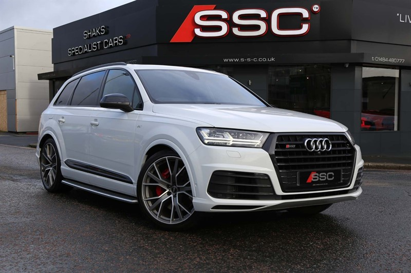 used Audi SQ7 V8 Tiptronic quattro (s/s) in huddersfield-west-yorkshire
