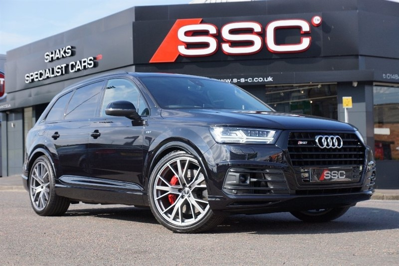 used Audi V8 SQ7 BiTDi Tiptronic Quattro 5dr in yorkshire