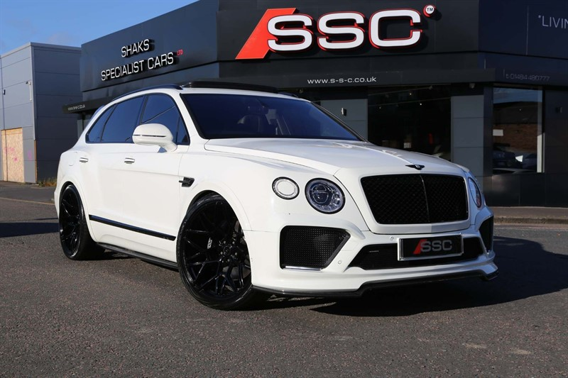 used Bentley Bentayga V8 Auto 4WD (s/s) 5 Seat in huddersfield-west-yorkshire