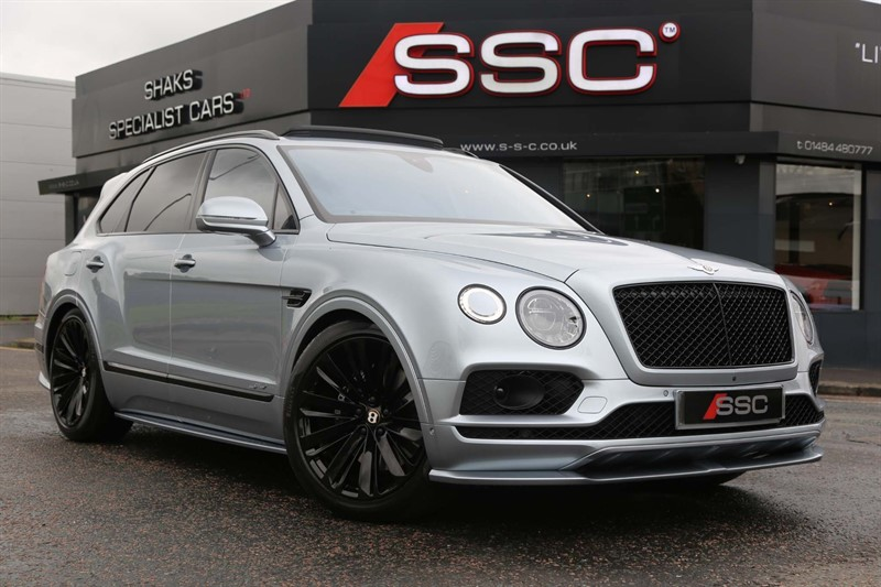 used Bentley Bentayga W12 Speed Auto 4WD 5 Seat in huddersfield-west-yorkshire