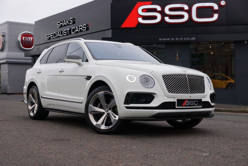 used Bentley Bentayga 6.0 W12 (AWD) 5dr - CARBON in yorkshire