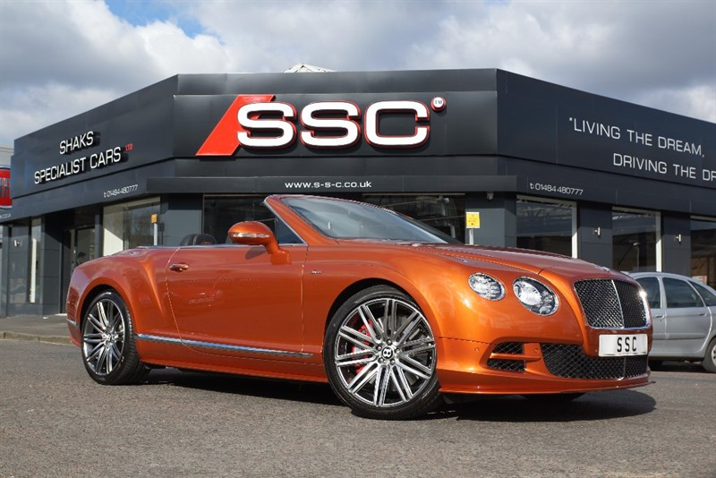 used Bentley Continental Speed W12 GTC 2dr in yorkshire