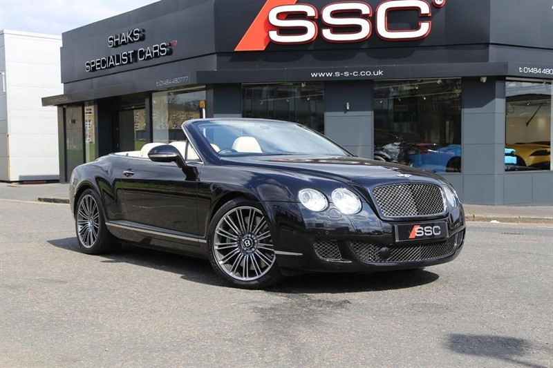 used Bentley Continental W12 GTC Speed 2dr in huddersfield-west-yorkshire