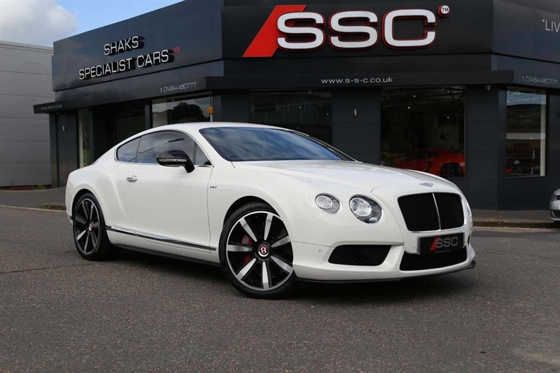 used Bentley Continental V8 GT S Auto 4WD 2dr in huddersfield-west-yorkshire