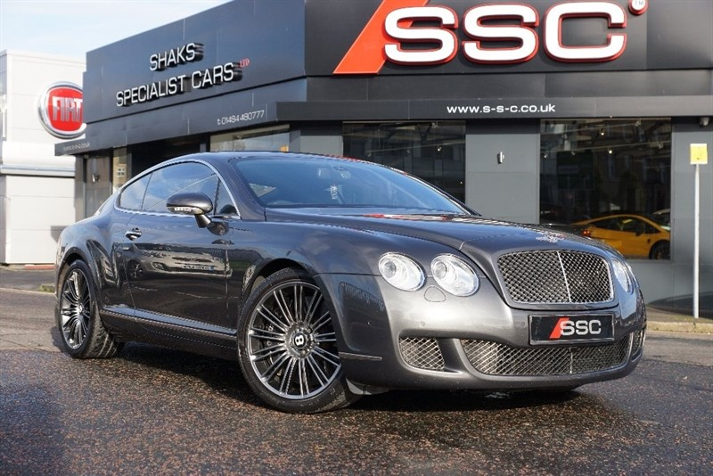 used Bentley Continental Speed W12 GT 2dr in yorkshire