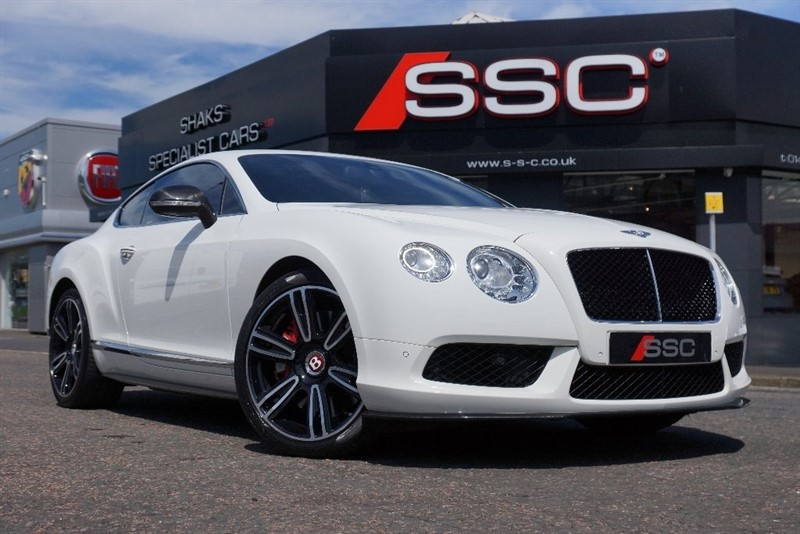 used Bentley Continental V8 GT 2dr in yorkshire