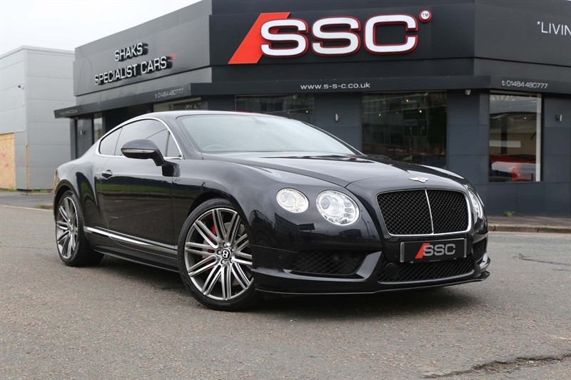 used Bentley Continental GT V8 S Auto 4WD in huddersfield-west-yorkshire