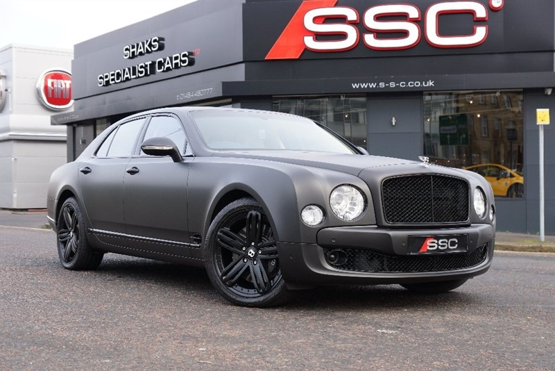 used Bentley Mulsanne 6.75 4dr in yorkshire