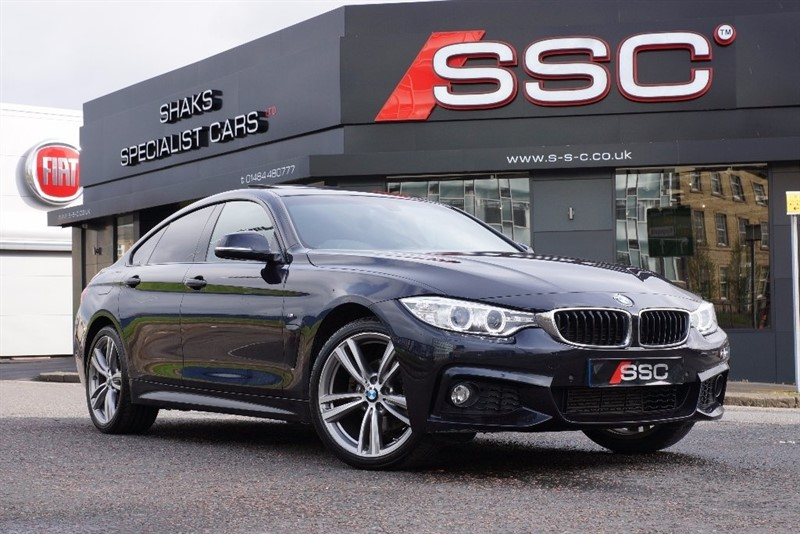 used BMW 420d 4 Series Gran Coupe M Sport Auto xDrive 5dr (start/stop) in yorkshire