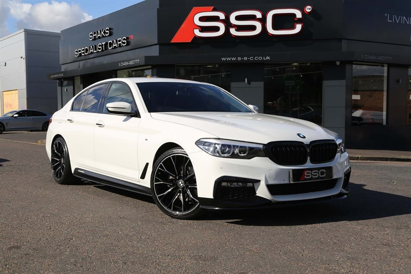 used BMW 520d M Sport Auto xDrive (s/s) in huddersfield-west-yorkshire