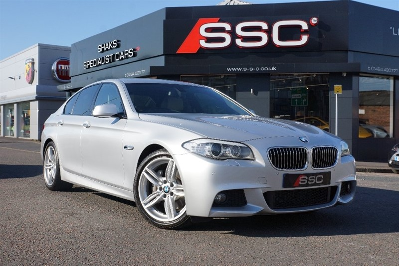 used BMW 530d 5 Series M Sport 4dr in yorkshire