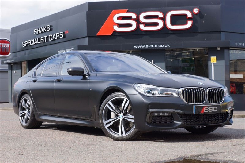 used BMW 740d 7 Series 3.0 M Sport Saloon Auto xDrive 4dr in yorkshire