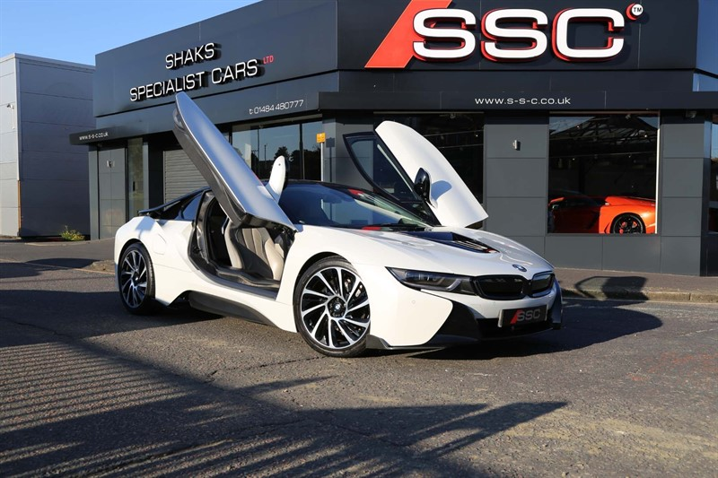 used BMW i8 7.1kWh Auto 4WD (s/s) 2dr in huddersfield-west-yorkshire