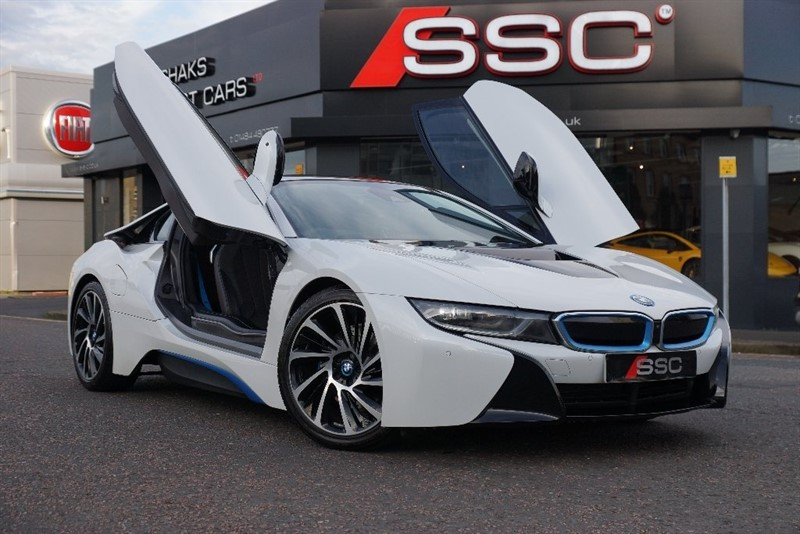 used BMW i8 Coupe Auto 4X4 2dr (start/stop) in yorkshire