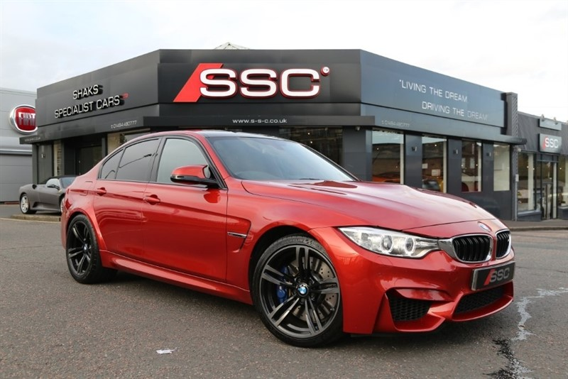 used BMW M3 M DCT (s/s) 4dr in huddersfield-west-yorkshire
