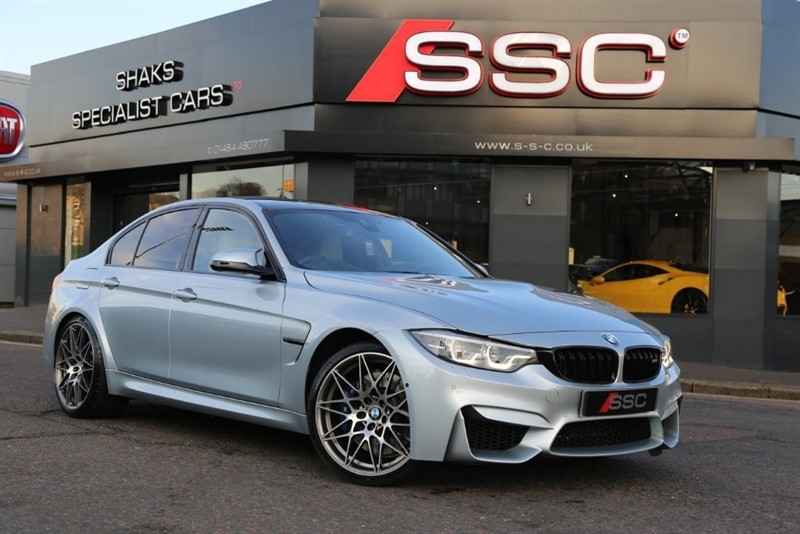 used BMW M3 M3 (Competition Pack) M DCT (s/s) 4dr in huddersfield-west-yorkshire