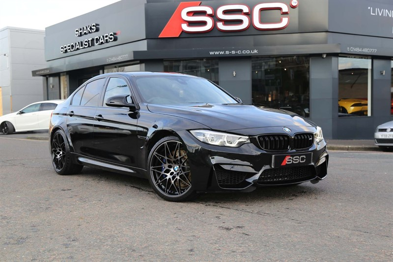 used BMW M3 BiTurbo Competition Pack DCT (s/s) 4dr in huddersfield-west-yorkshire