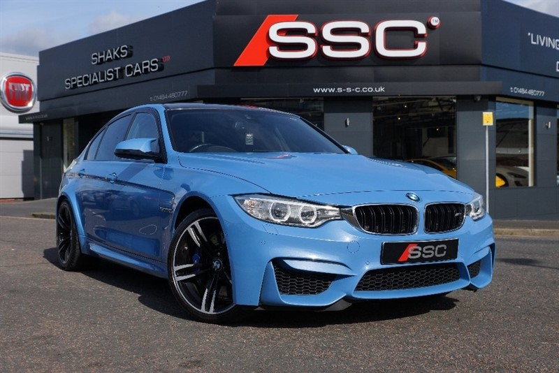 used BMW M3 M3 M DCT 4dr (start/stop) in yorkshire