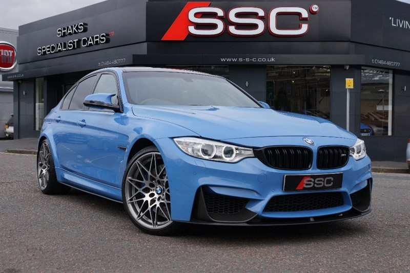 used BMW M3 M3 (Competition Pack) M DCT 4dr (start/stop) in yorkshire