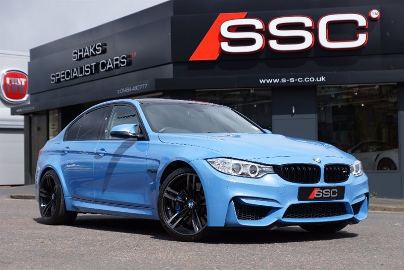 used BMW M3 DCT 4dr (start/stop) in yorkshire