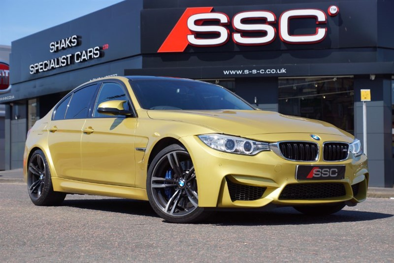 used BMW M3 3.0 DCT 4dr (start/stop) in yorkshire