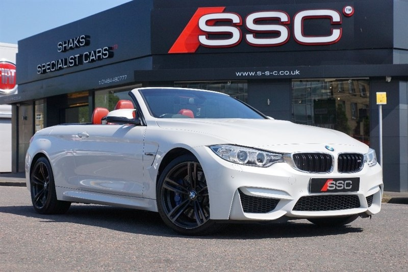 used BMW M4 M DCT 2dr (start/stop) in yorkshire