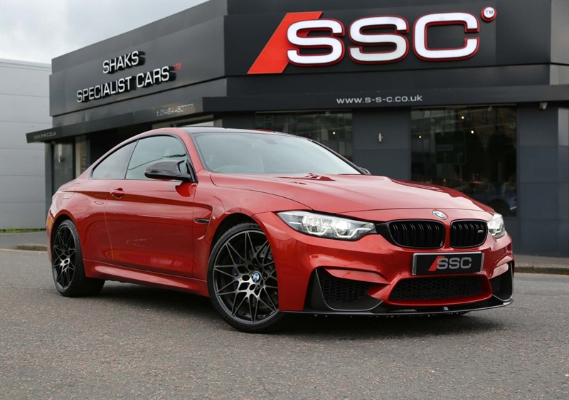 used BMW M4 BiTurbo (Competition Pack) DCT (s/s) in huddersfield-west-yorkshire