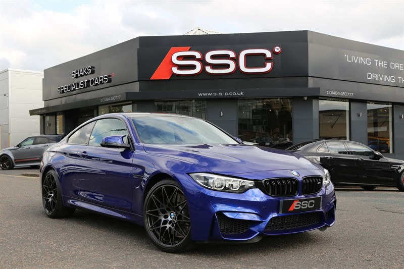 used BMW M4 BiTurbo Competition DCT (s/s) in huddersfield-west-yorkshire