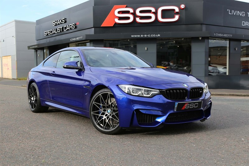 used BMW M4 BiTurbo GPF (Competition Pack) DCT (s/s) in huddersfield-west-yorkshire