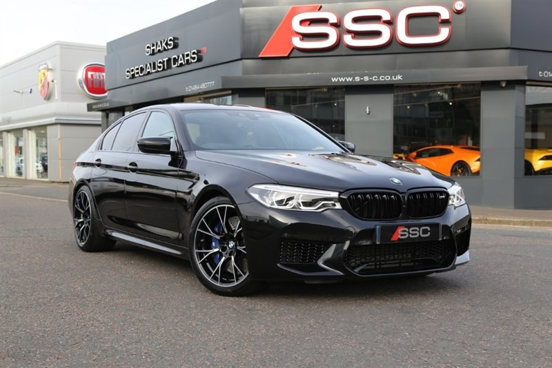 used BMW M5 Competition M Steptronic xDrive 4dr in huddersfield-west-yorkshire