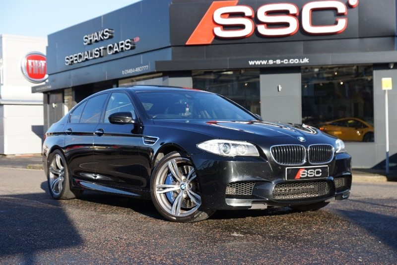 used BMW M5 DCT 4dr in yorkshire