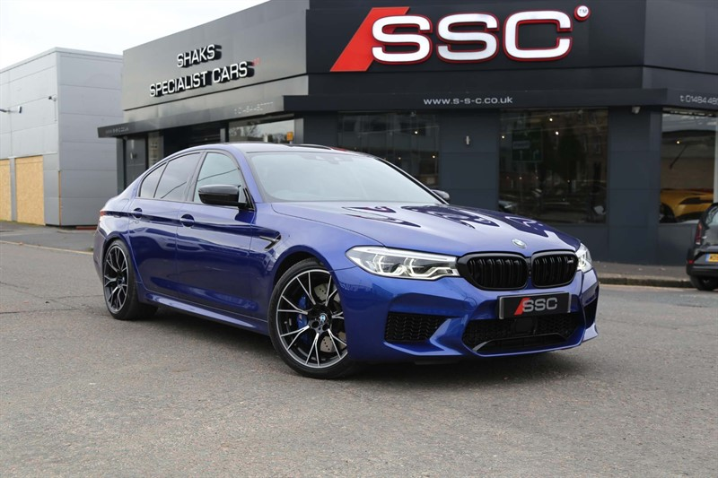 used BMW M5 V8 Competition Steptronic xDrive (s/s) in huddersfield-west-yorkshire