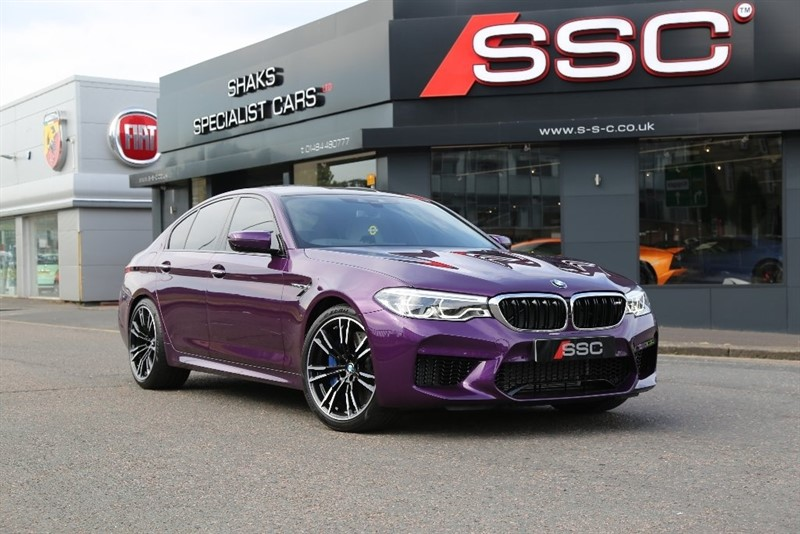 used BMW M5 M Steptronic xDrive 4dr in yorkshire