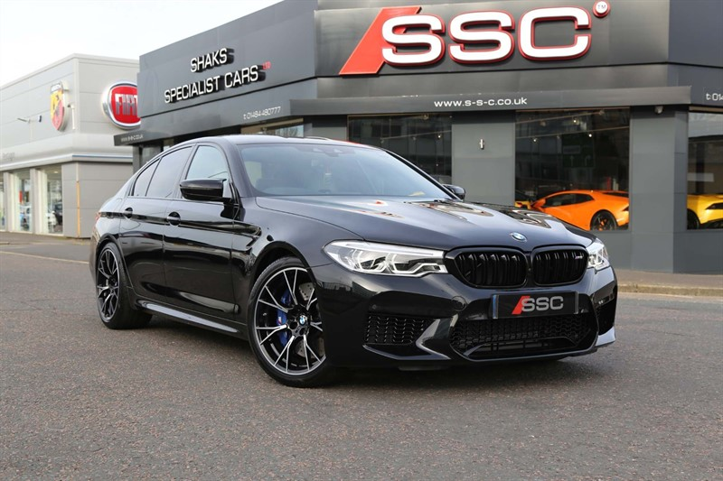 used BMW M5 V8 Competition Steptronic xDrive (s/s) 4dr in huddersfield-west-yorkshire