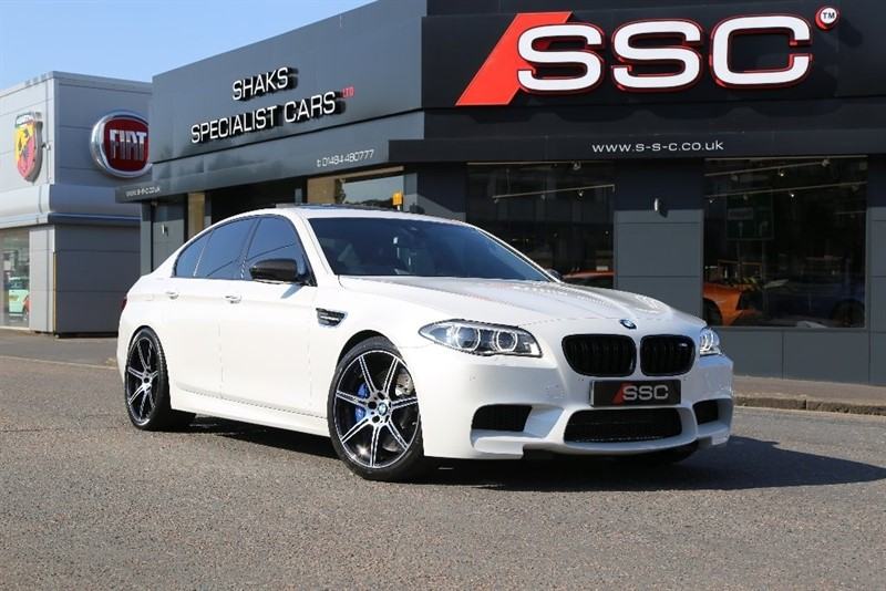 used BMW M5 (Competition Pack) M DCT (s/s) 4dr in yorkshire