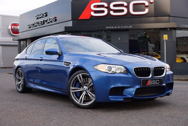 used BMW M5 4.4 DCT 4dr in yorkshire