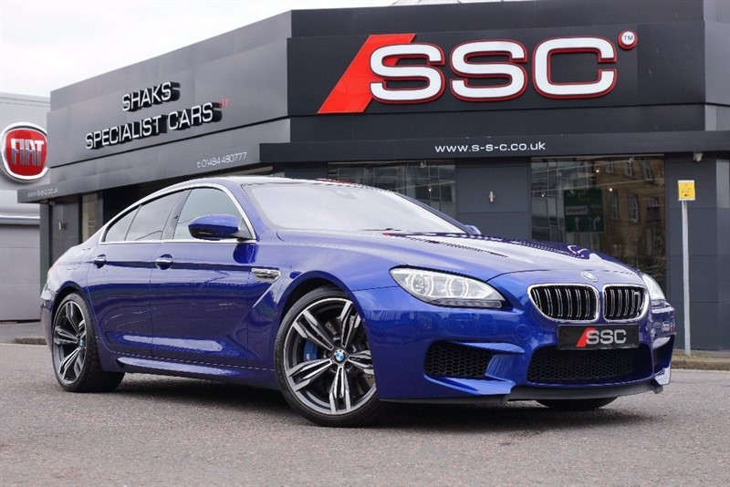 used BMW M6 Gran Coupe 4.4 DCT 4dr in yorkshire