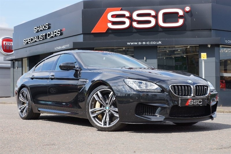 used BMW M6 Gran Coupe DCT 4dr in yorkshire