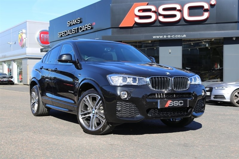 used BMW X4  20d M Sport xDrive 5dr in huddersfield-west-yorkshire