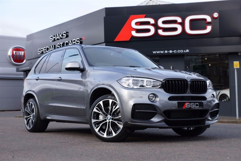 used BMW X5 3.0 M50d Station Wagon Auto 5dr (start/stop) in yorkshire