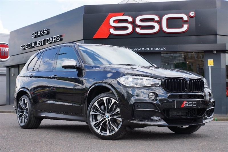 used BMW X5 M50d Station Wagon Auto 5dr (start/stop) in yorkshire