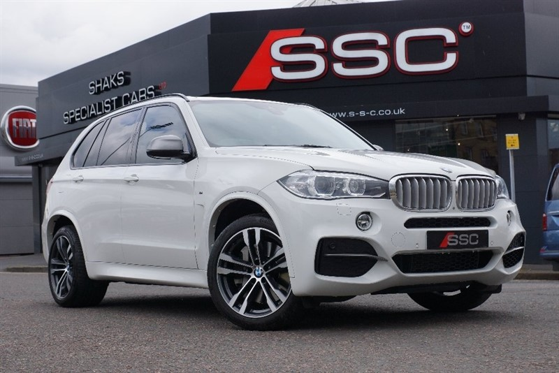 used BMW X5 50d M 4x4 5dr (start/stop) in yorkshire