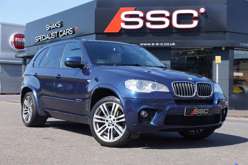 used BMW X5 30d M Sport xDrive 5dr (start/stop) in yorkshire