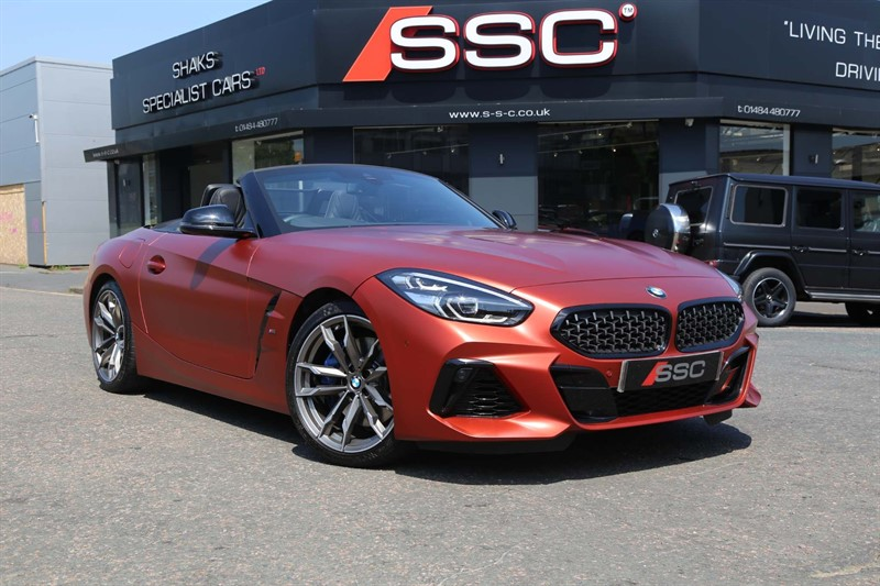 used BMW Z4 M40i First Edition Auto sDrive (s/s) in huddersfield-west-yorkshire