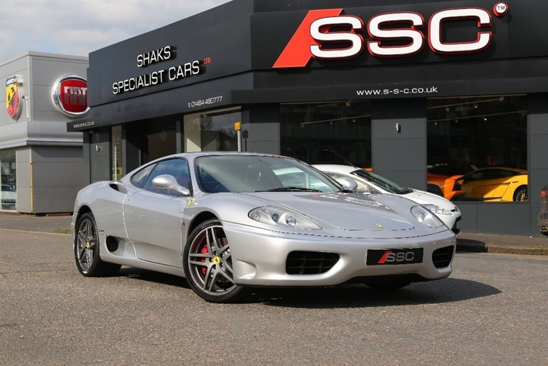 used Ferrari 360 3.6 Modena F1 2dr in huddersfield-west-yorkshire